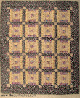free mini log cabin quilt pattern