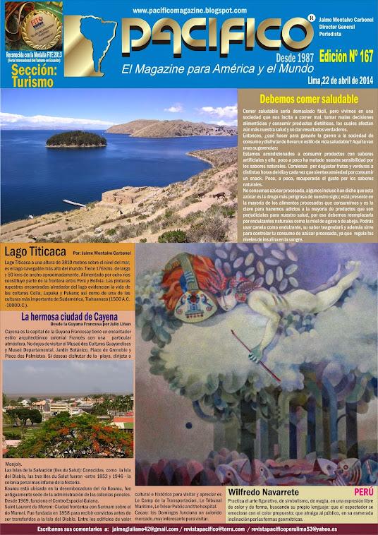 Revista Pacífico Nº 167 Turismo
