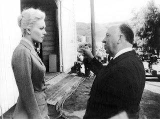 La charla de Kim Novak y Alfred Hitchcock