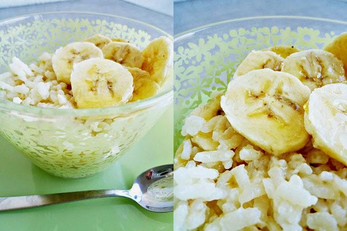 Bananenmilchreis