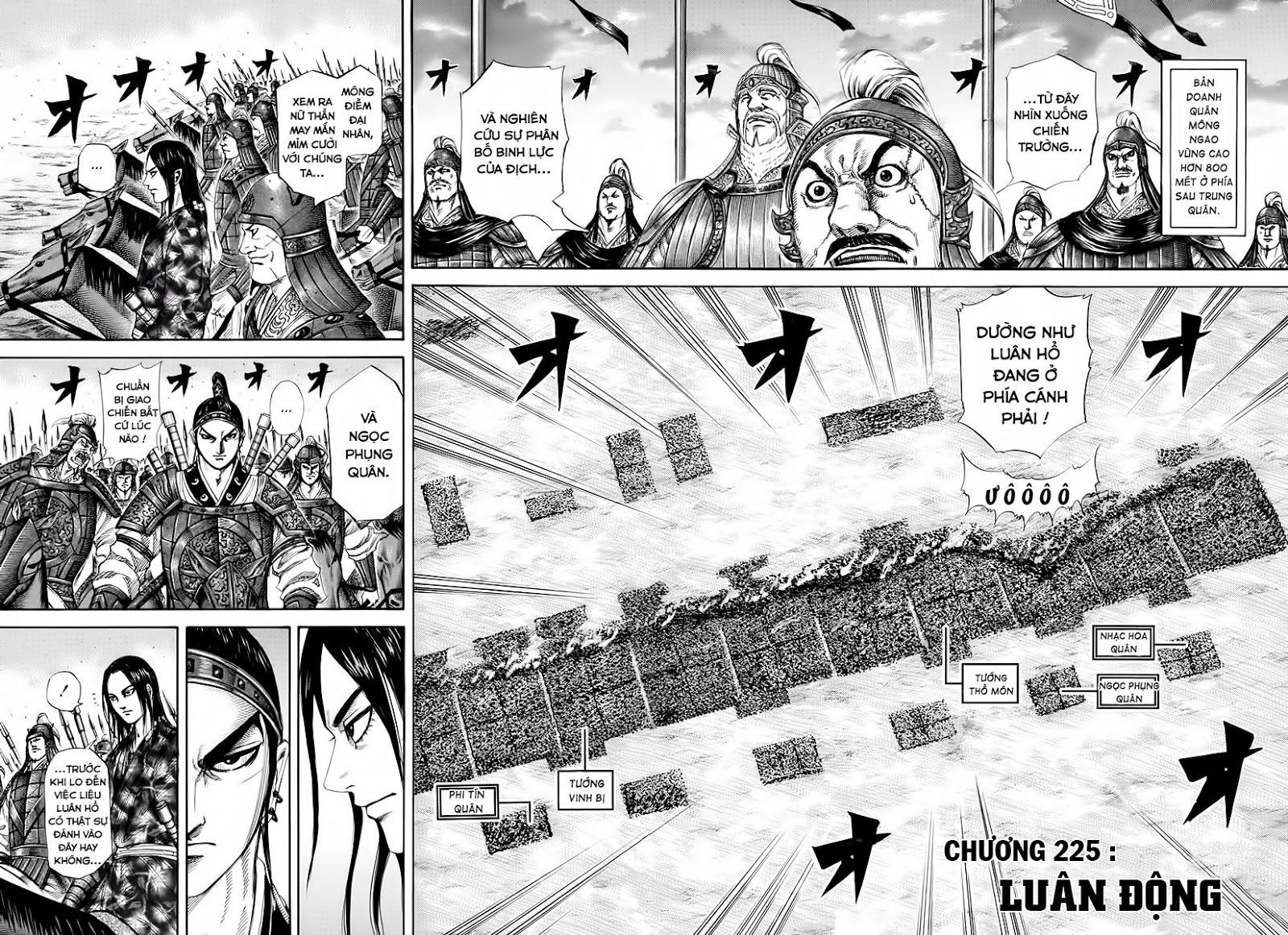 Kingdom – Vương Giả Thiên Hạ (Tổng Hợp) chap 225 page 3 - IZTruyenTranh.com