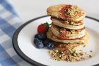 easy gluten free coconut flour pancakes.