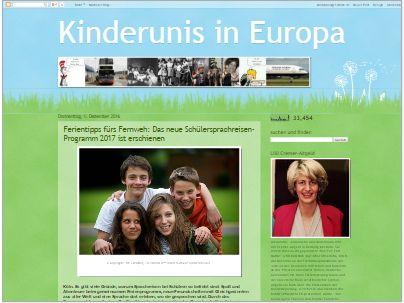 KINDERUNIS IN EUROPA