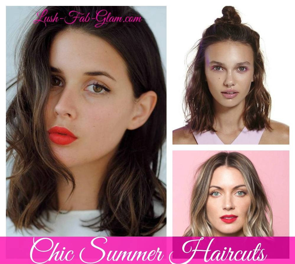Look chic even in the sizzling summer heat with these hairstyles.