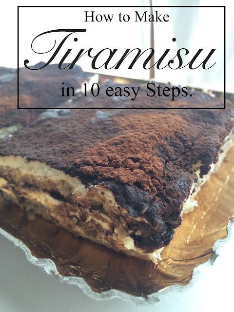 how to make italian tiramisu