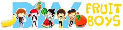 17 Caricaturas/Brushes/Chibis da banda B1A4