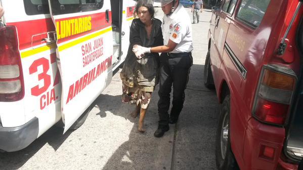Cuatro heridos al explotar cohetería en Los Guates, Suacité