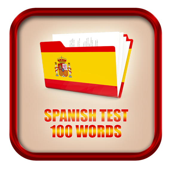 Spanish Test 100 words by Share Your Skills