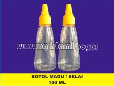 Jual Botol Selai Madu Tutup Lancip 150ml