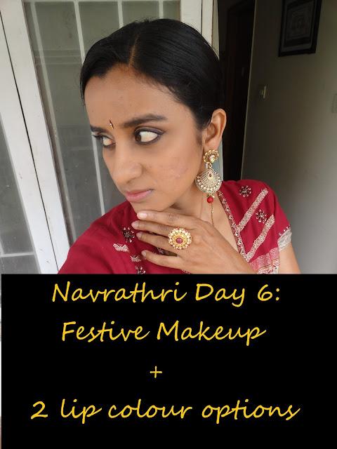 Navrathri Day 6: Neutral eyemakeup look for the festive season image