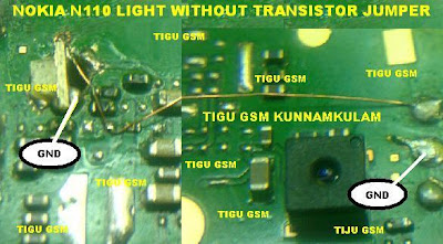 nokia n111 light solution without transistor nokia 1616 light solution