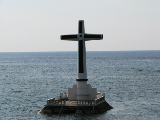Cross Marker Sunken Cemetery Camiguin Island, CAMIGUIN ISLAND ATTRACTIONS, camiguin blog, cagayan de oro blog, what to do in camiguin