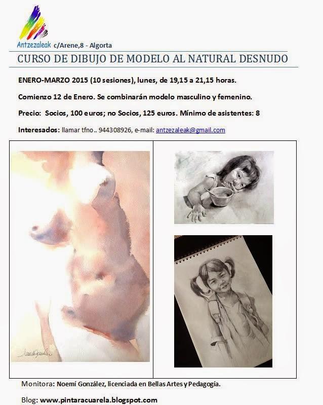 CURSO DE FIGURA DEL NATURAL