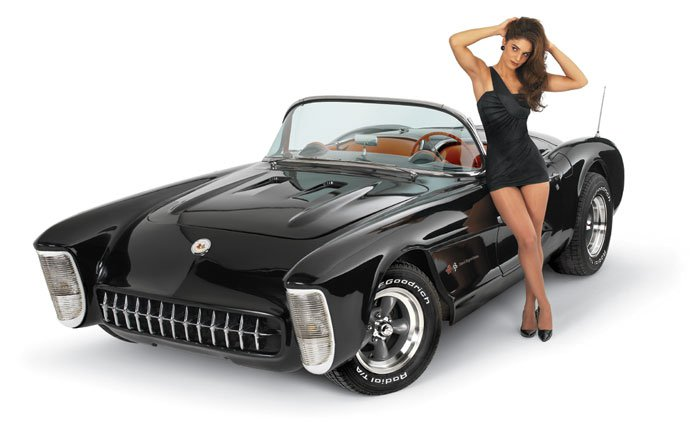 car guy : Riviera headlights are interesting to see on a Corvette