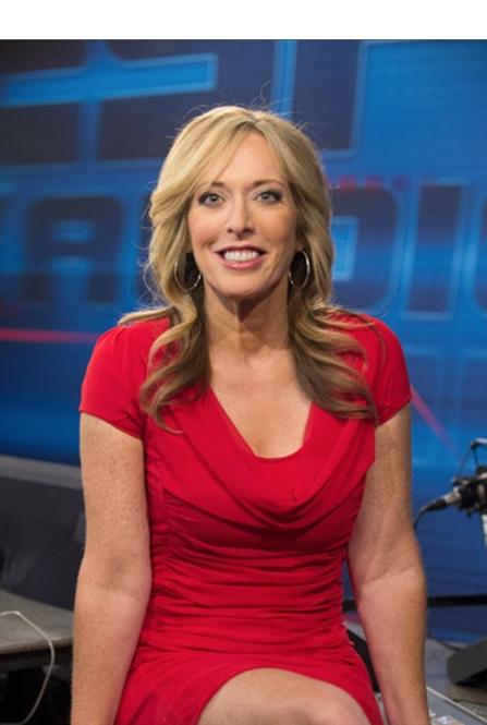 Linda Cohn at the ESPN Radio studios  September 9  2013 Linda Cohn