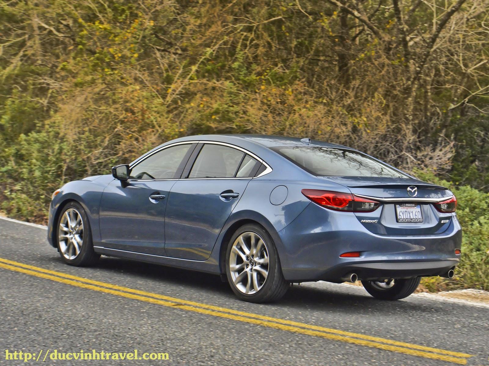 Mazda 6 sự lựa chọn an toàn cho người sử dụng