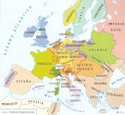 ¿Por qué se puede decir que Europa es el centro del mundo? (europa siglo xviii)