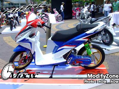 Modifikasi Honda Vario 125 PGM-FI 2013 Bag.2