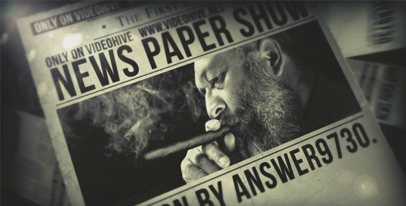 VideoHive News Paper Show
