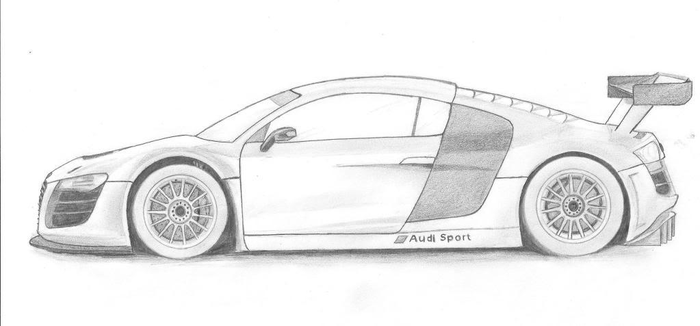 dibujos de autos: