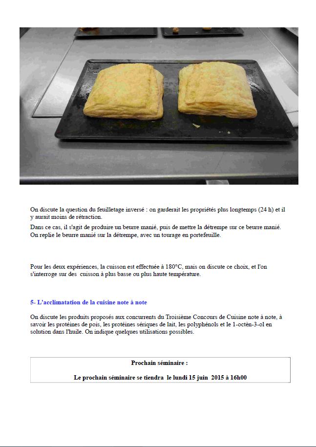 alchimie culinaire sauvage et naturel s 233 minaire de gastronomie mol 233 culaire pate 224 choux et
