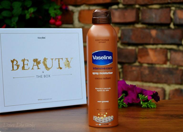 VASELINE Balsam do ciała w spray'u Cocoa Radiant