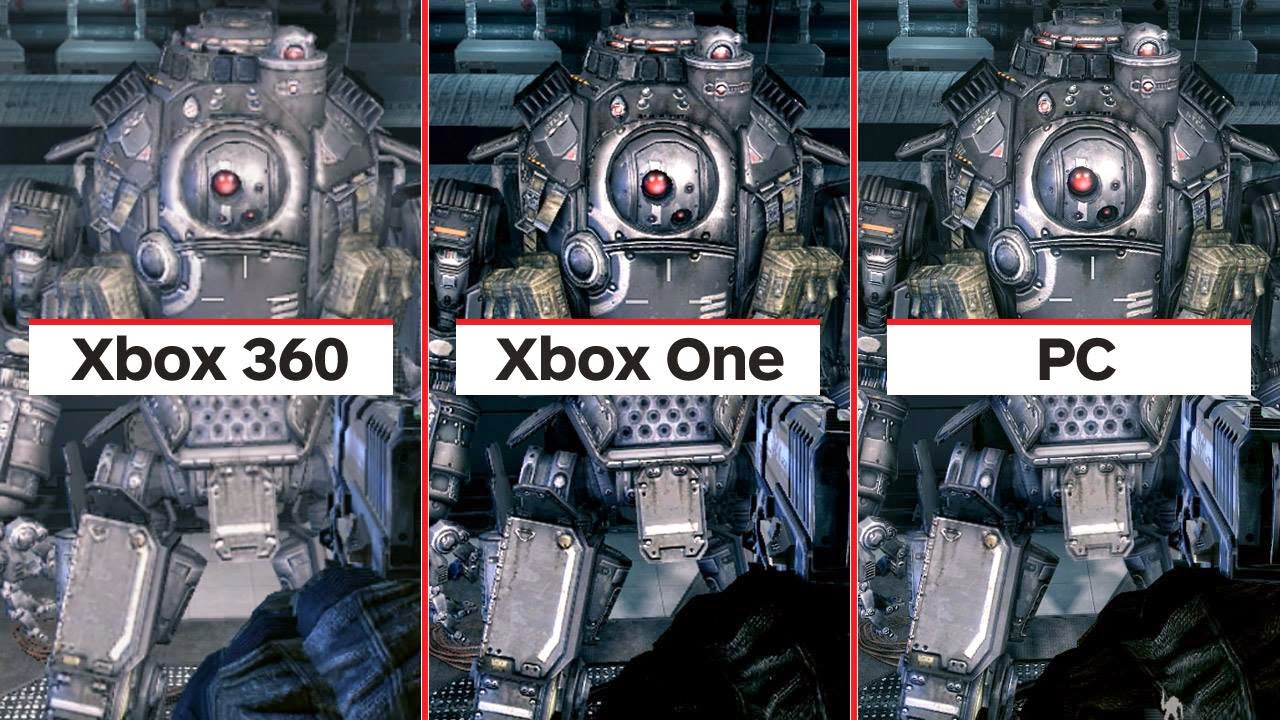 PC Vs Xbox One Vs Xbox 360 Titanfall Graphics comparison ...