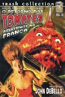 O Retorno dos Tomates Assassinos na França 3gp Dublado 1991