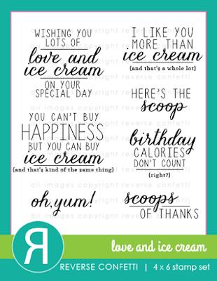 love and ice cream