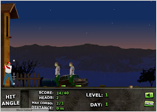 Zombie Baseball screenshot