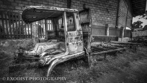 Old Truck HDR © Exodist Photography, All Rights Reserved