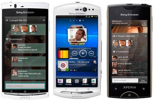 Aggiornamento ICS Android 4 su Sony Xperia 2011
