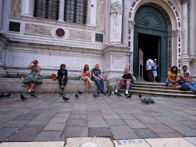 Venice museum entrance