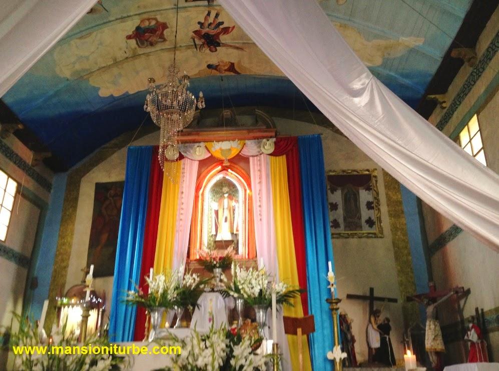 Templo de San Pedro en Jarácuaro, Michoacán