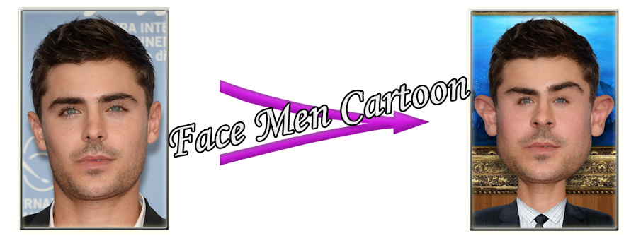 Face Men Cartoon