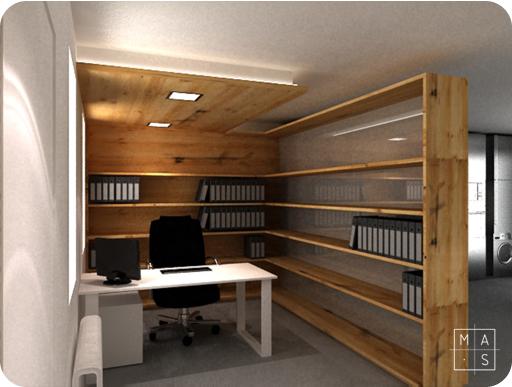 Trabajando desde casa madera chocolate for Como crear una oficina