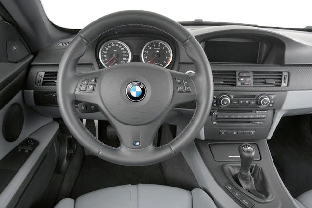 2008 BMW M3 Coupe Front Interior Rear View
