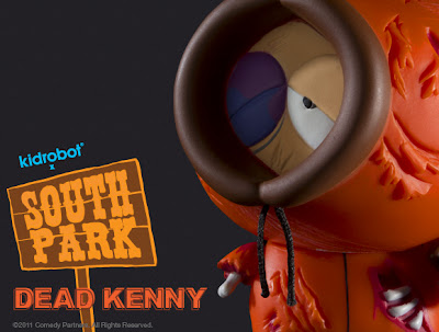 Kidrobot - Dead Kenny South Park Mini Figure
