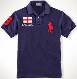 polo Ralph Lauren Inglaterra Mundial 2014