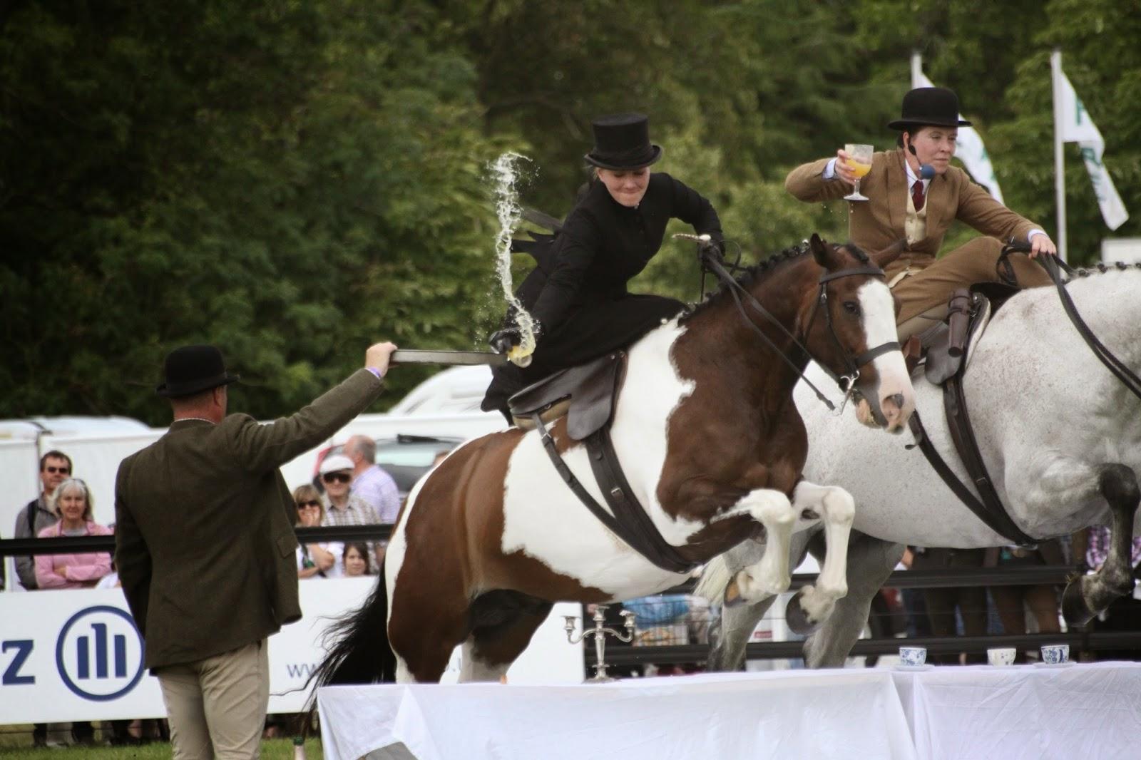 Horse display team - CLA Game Fair