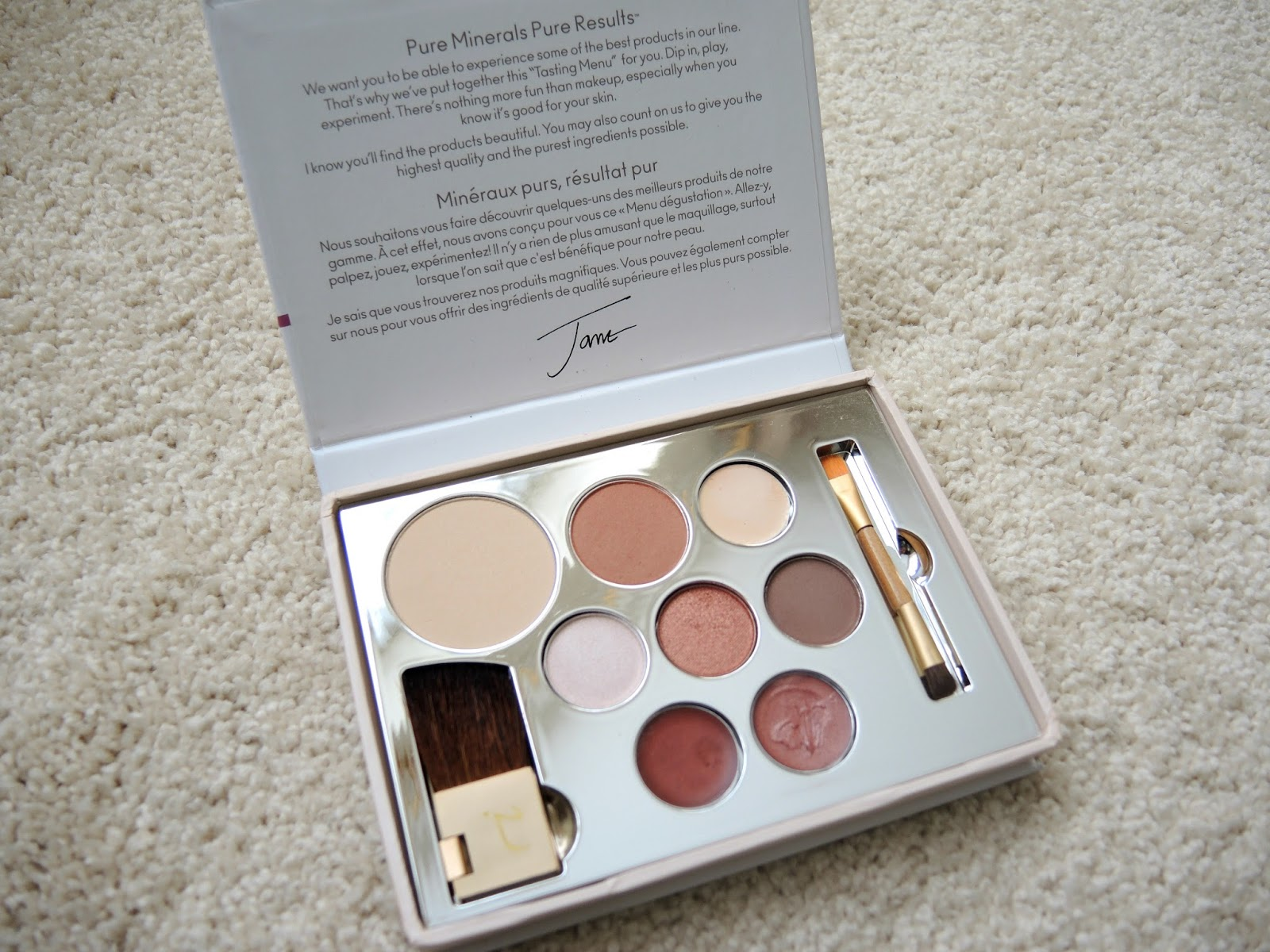 Jane Iredale Starter Kit Light Review and Swatches