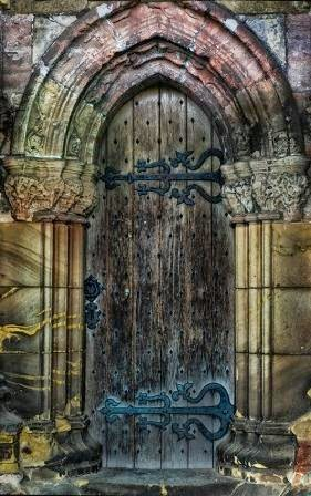 Rosslyn Chapel door