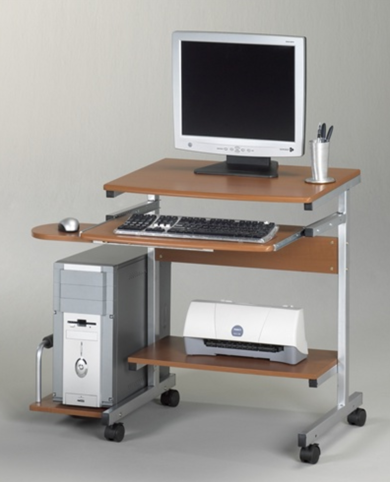 Mayline Eastwinds Portrait Student Computer Desk