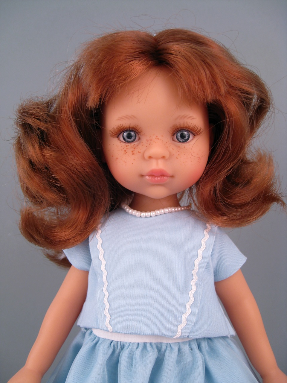 Ruth Treffeisen play doll
