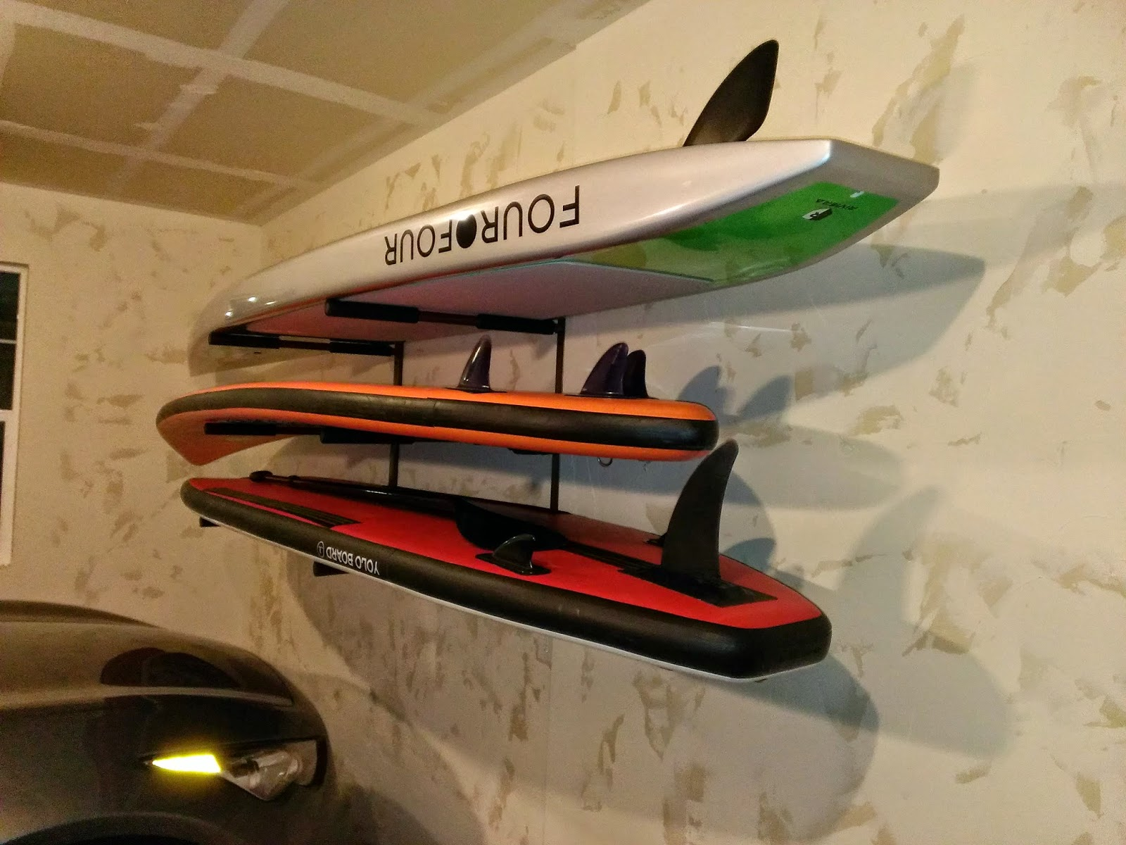 paddleboard garage rack