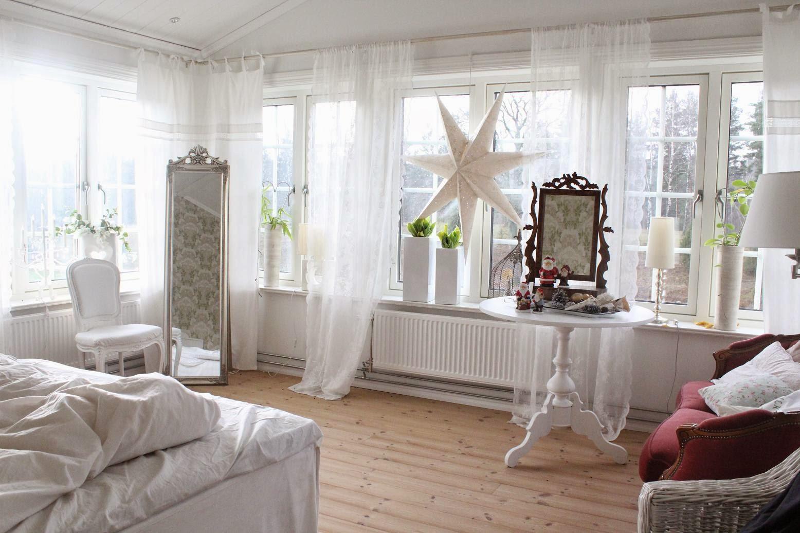 Claras hem pÅ byvÄgen : i vårt vita sovrum