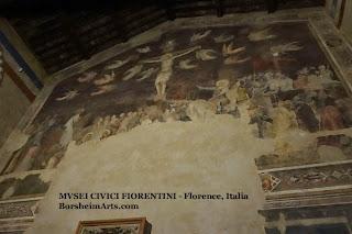 Santo Spirito refectory Salvatore Romano museum Florence Italy fresco