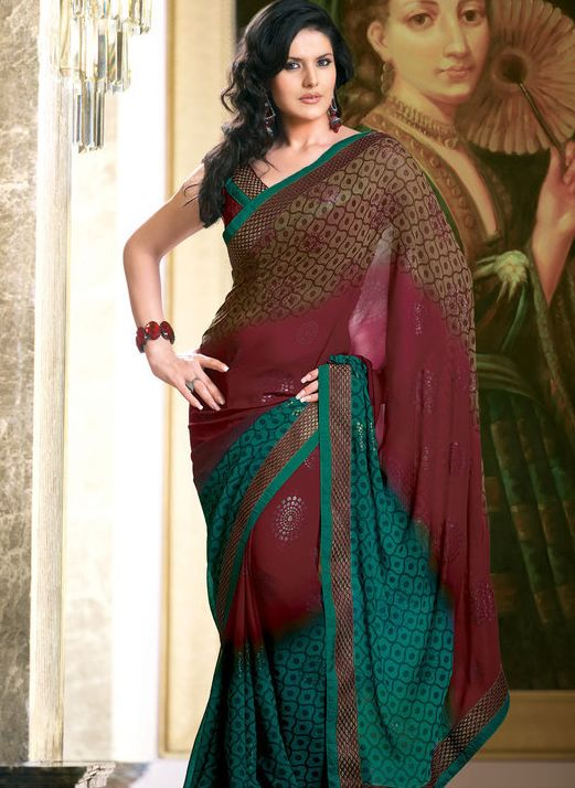 Zarine-Khan+hot+wallpapers+in+saree