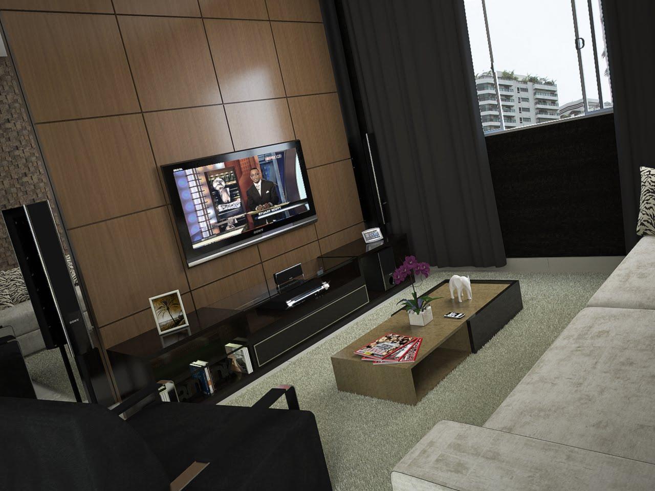 sala%2Btv2%2Bcopy Decoração Para Sala de Tv: Algo Muito Requisitado Nos Lares Atuais