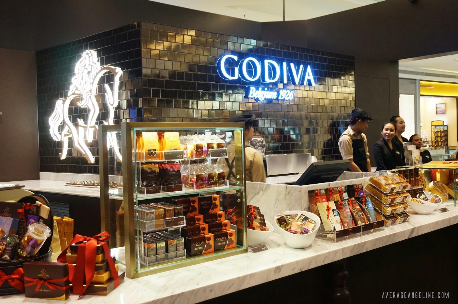 Average Angeline♥: GODIVA, The World's Premium Chocolate is now ...